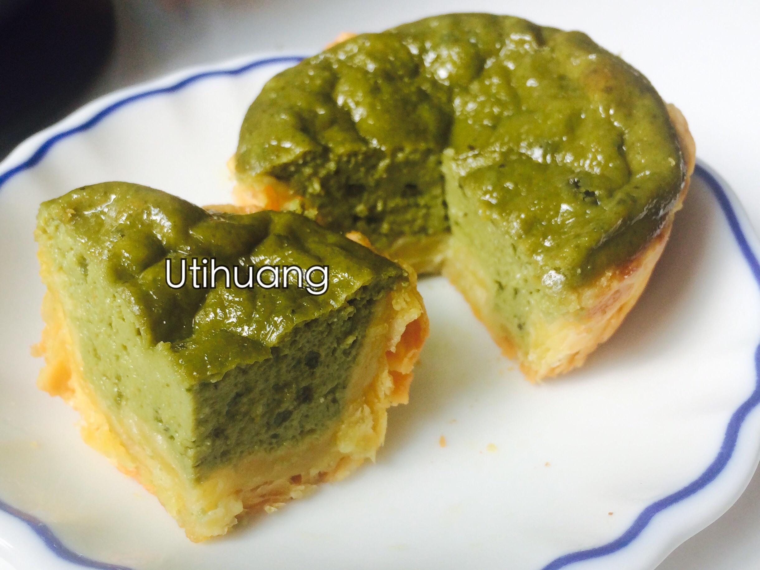 抹茶豆渣豆漿蛋塔 減油減糖速成版