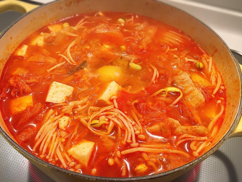 零失敗韓式泡菜豆腐鍋