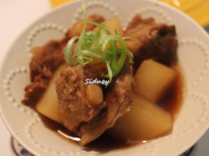 日式白蘿蔔燉豬軟骨