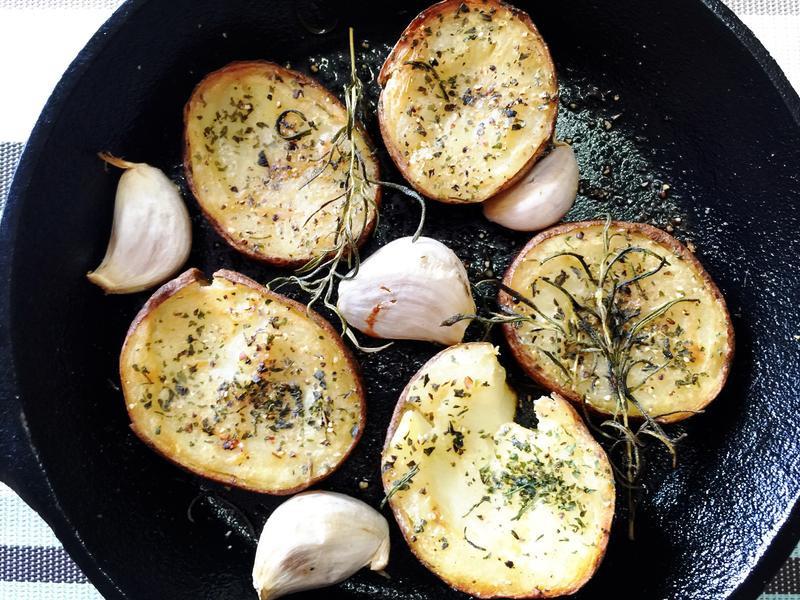 蒜烤馬鈴薯
