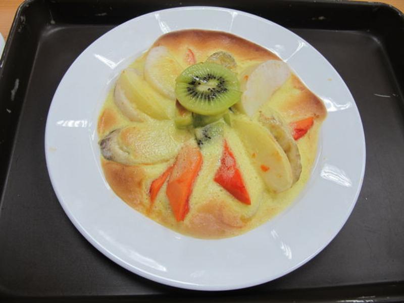 沙巴翁焗水果