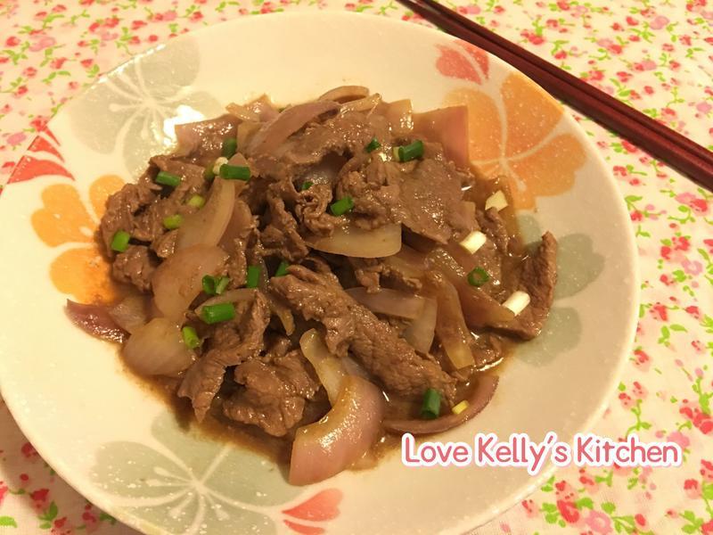 日式燒汁炒牛肉