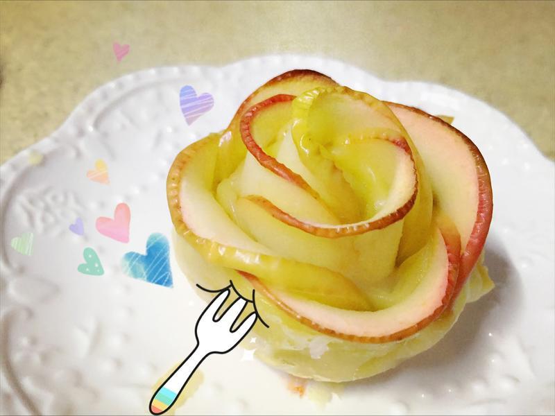 蘋果玫瑰酥