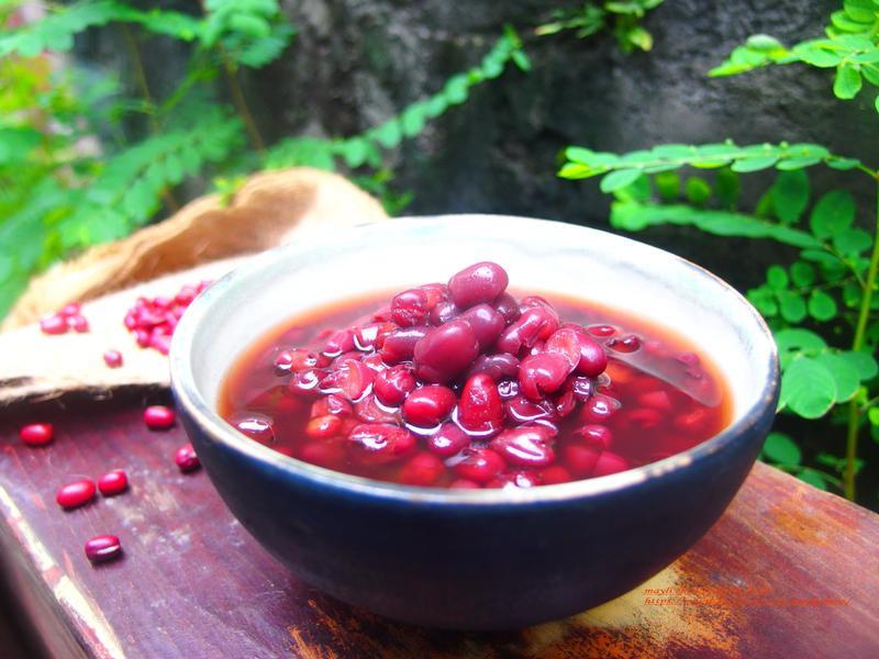 簡易電鍋版紅豆湯
