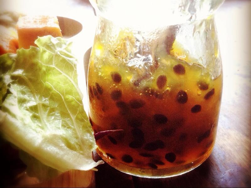 夏秋之際的短暫交會-百香鳳梨果醬