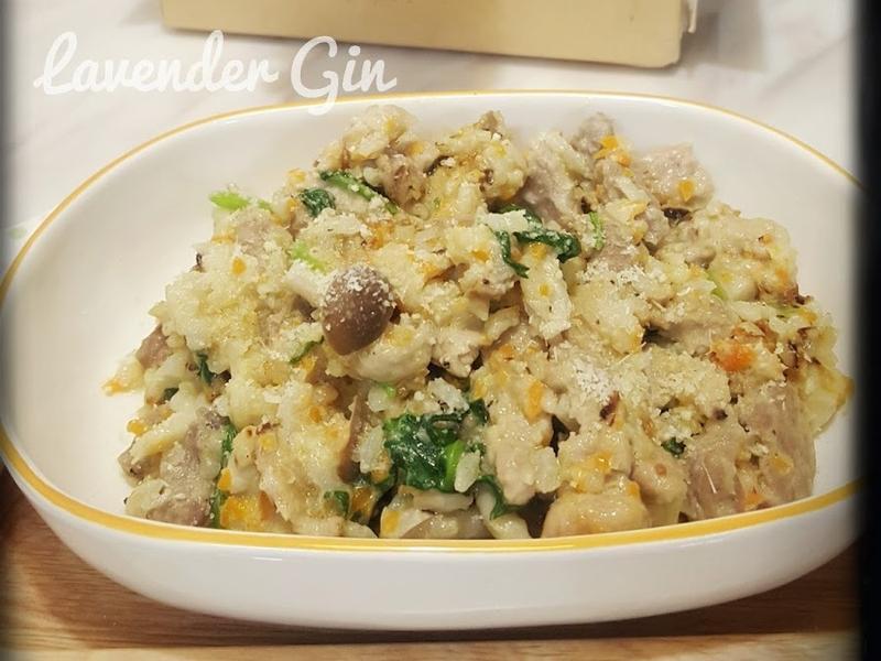鮮蔬野菇燉飯