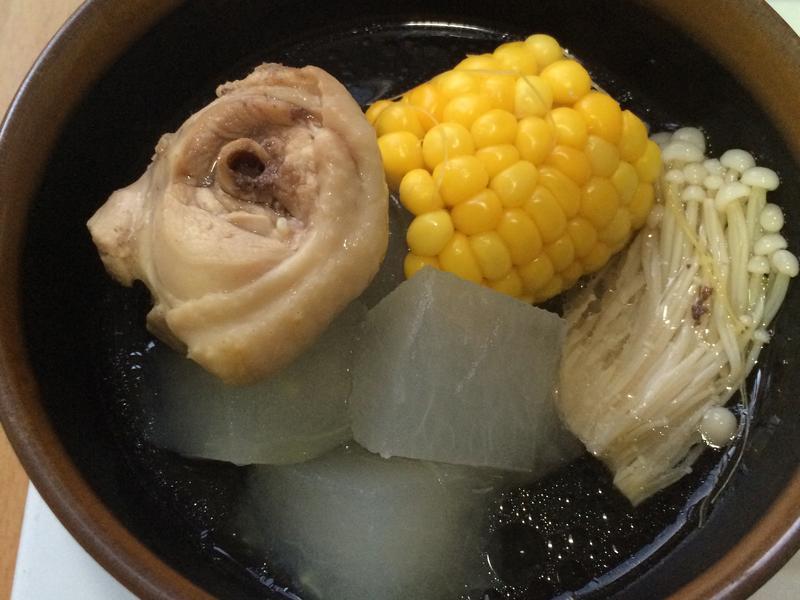 夏季退火冬瓜湯-懶人料理