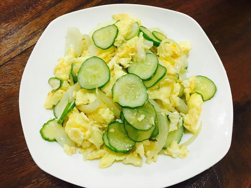 小黃瓜洋蔥蛋