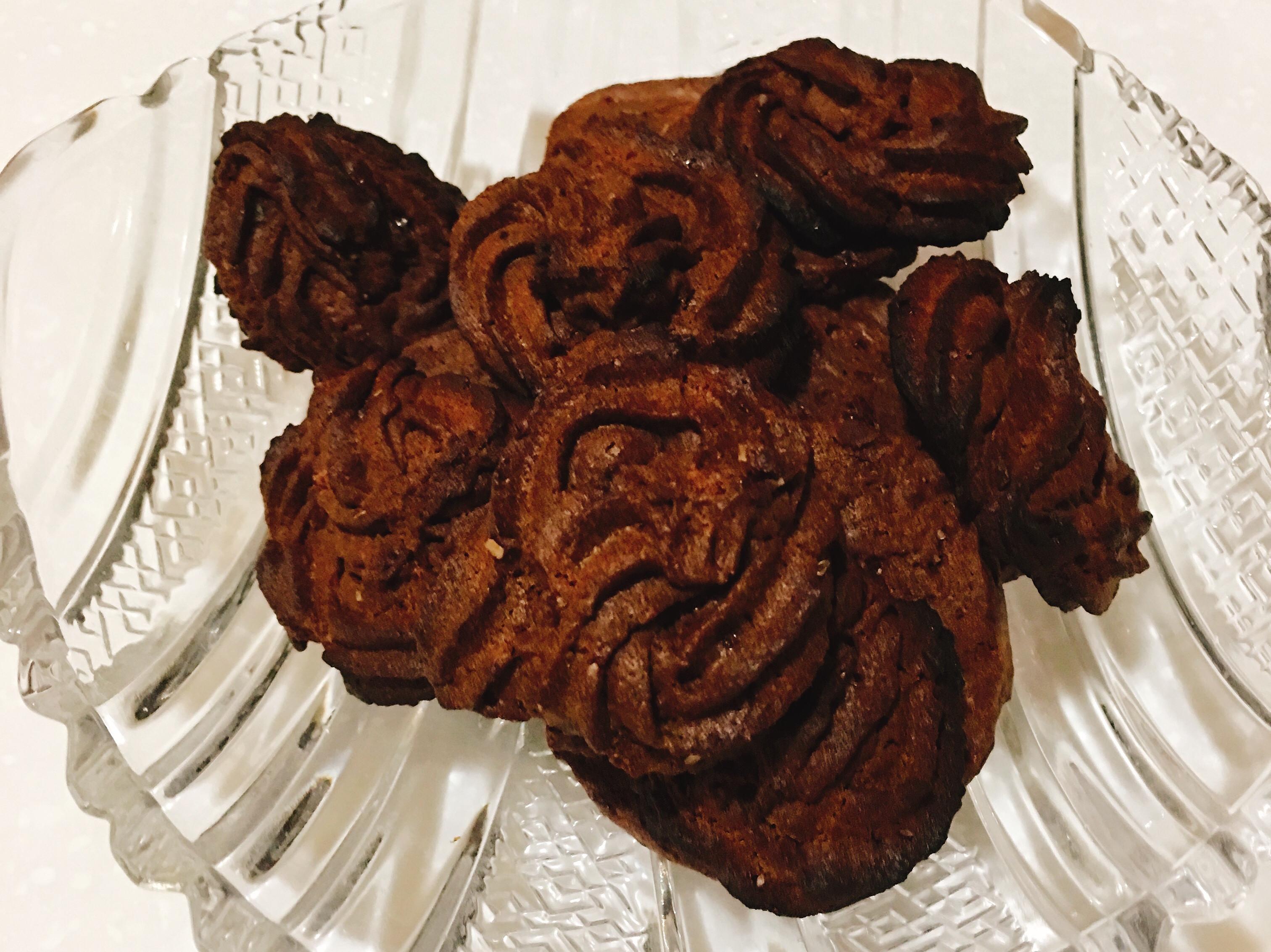 巧克力擠花餅乾