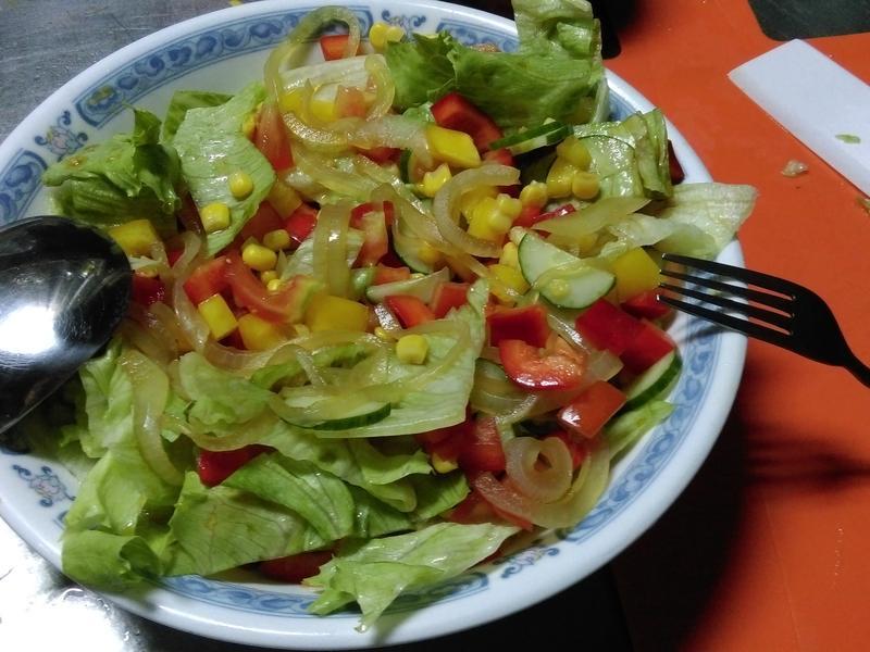 [夏日開胃菜]和風甜椒生菜沙拉_健康廚房