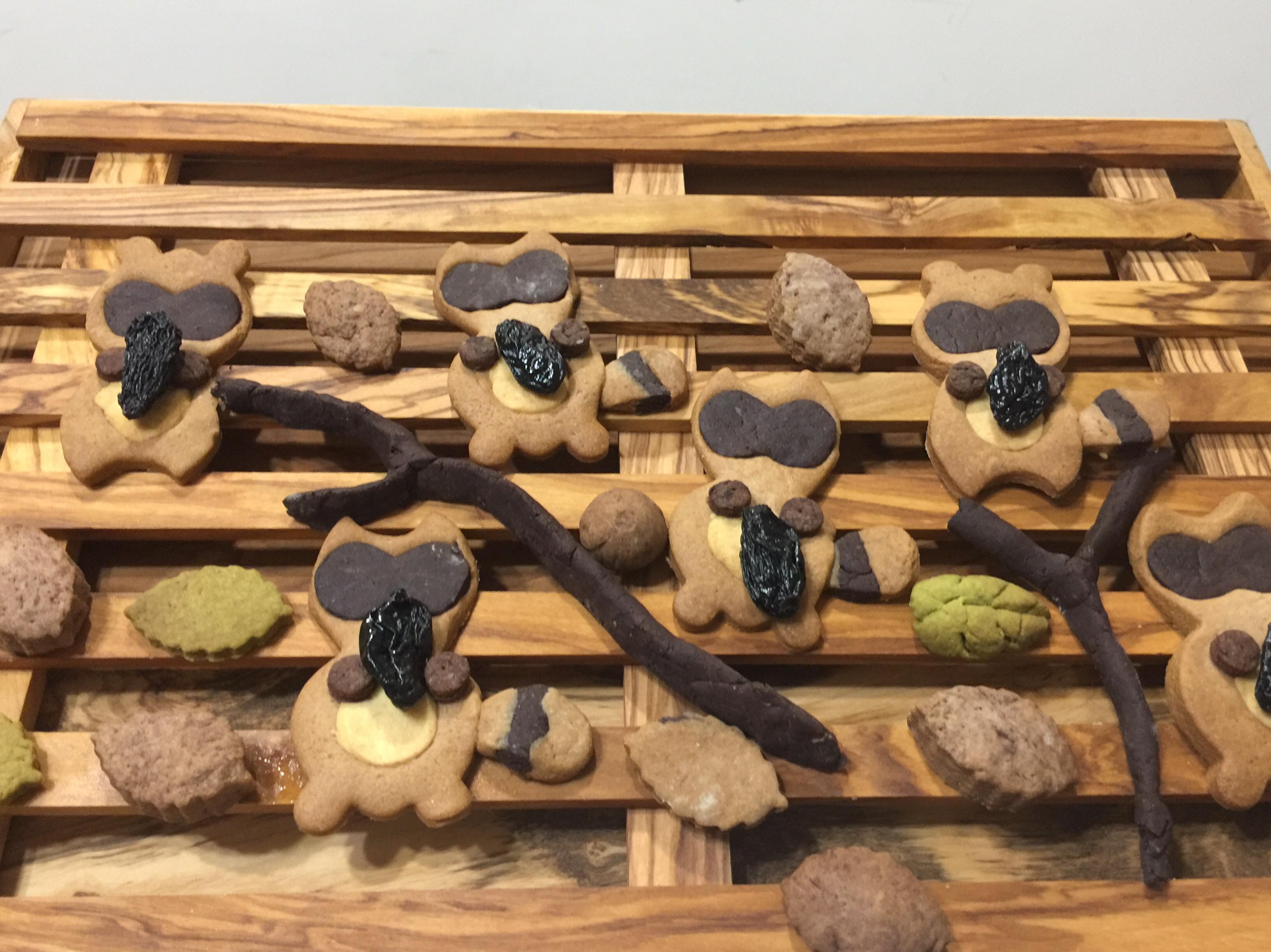 森林小沅熊手工餅乾#國際牌蒸烤爐