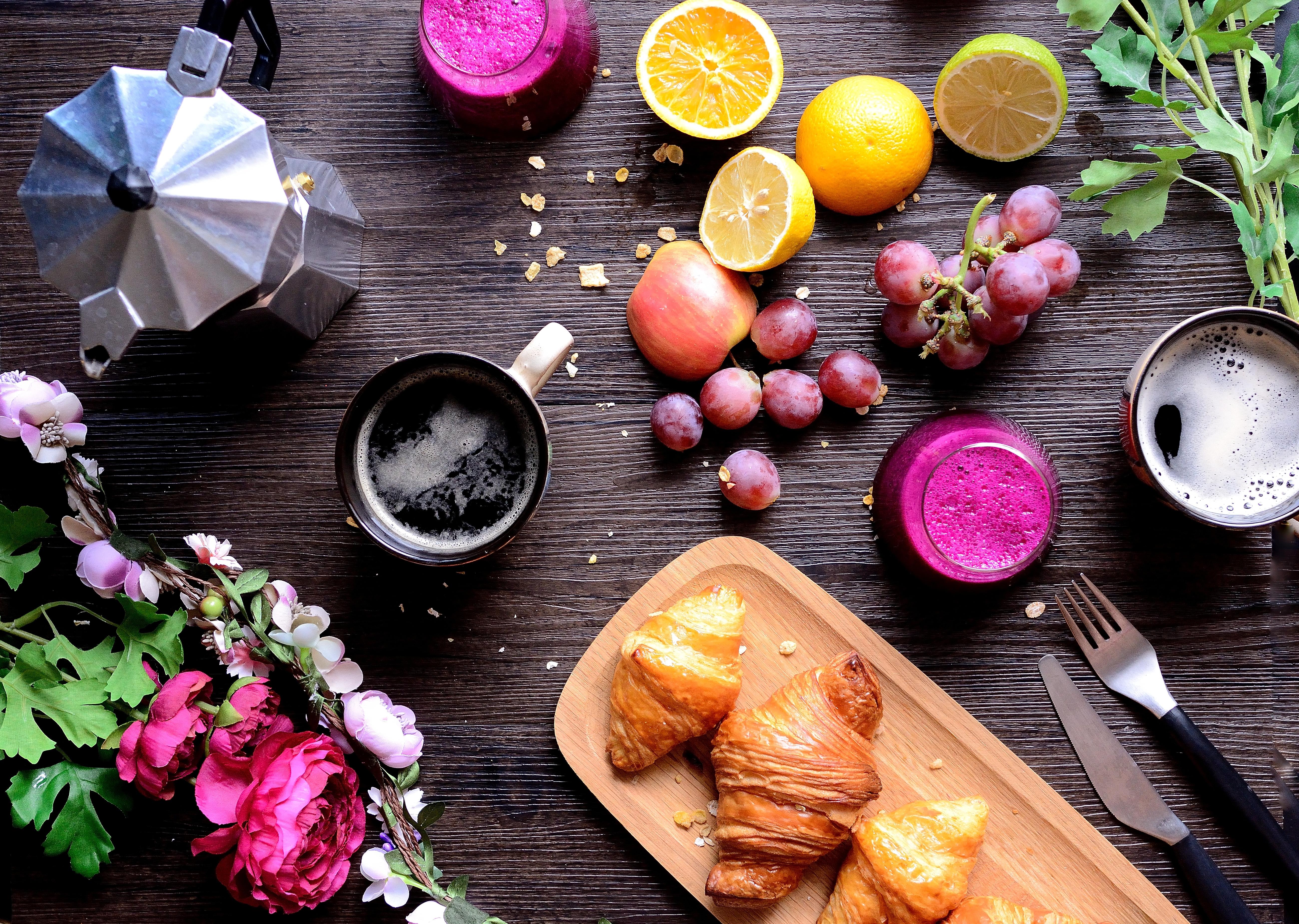 花園水果早午餐