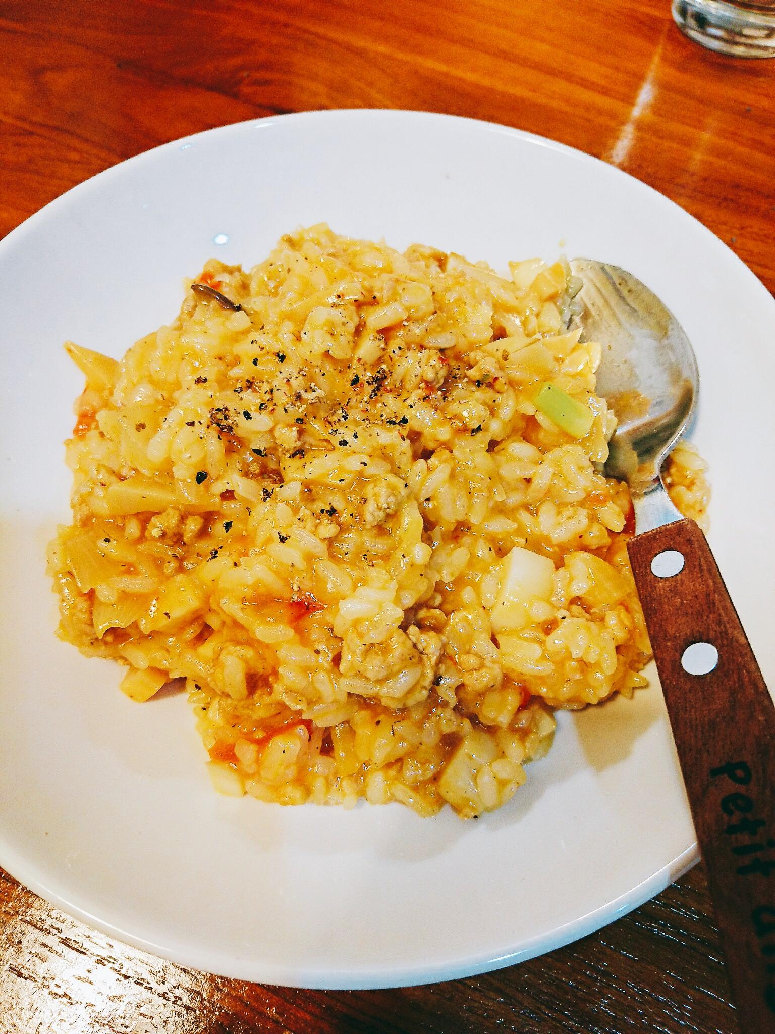 義大利番茄肉醬燉飯
