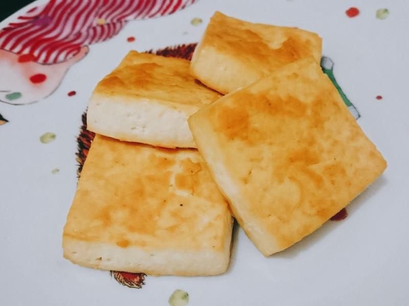 小烤箱料理~日式味增烤豆腐