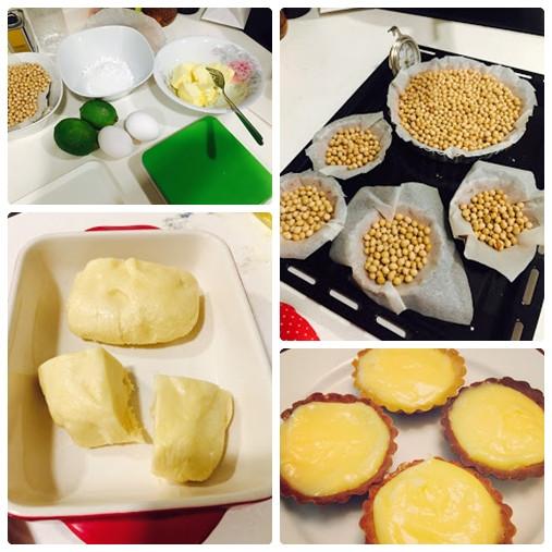 小資烘焙師:藍帶檸檬塔派