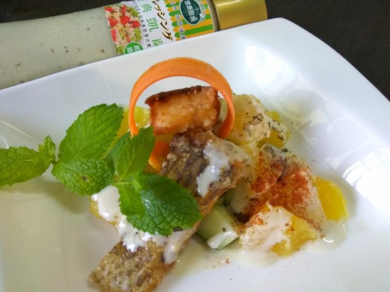 法式凱撒橙香魚排-健康廚房