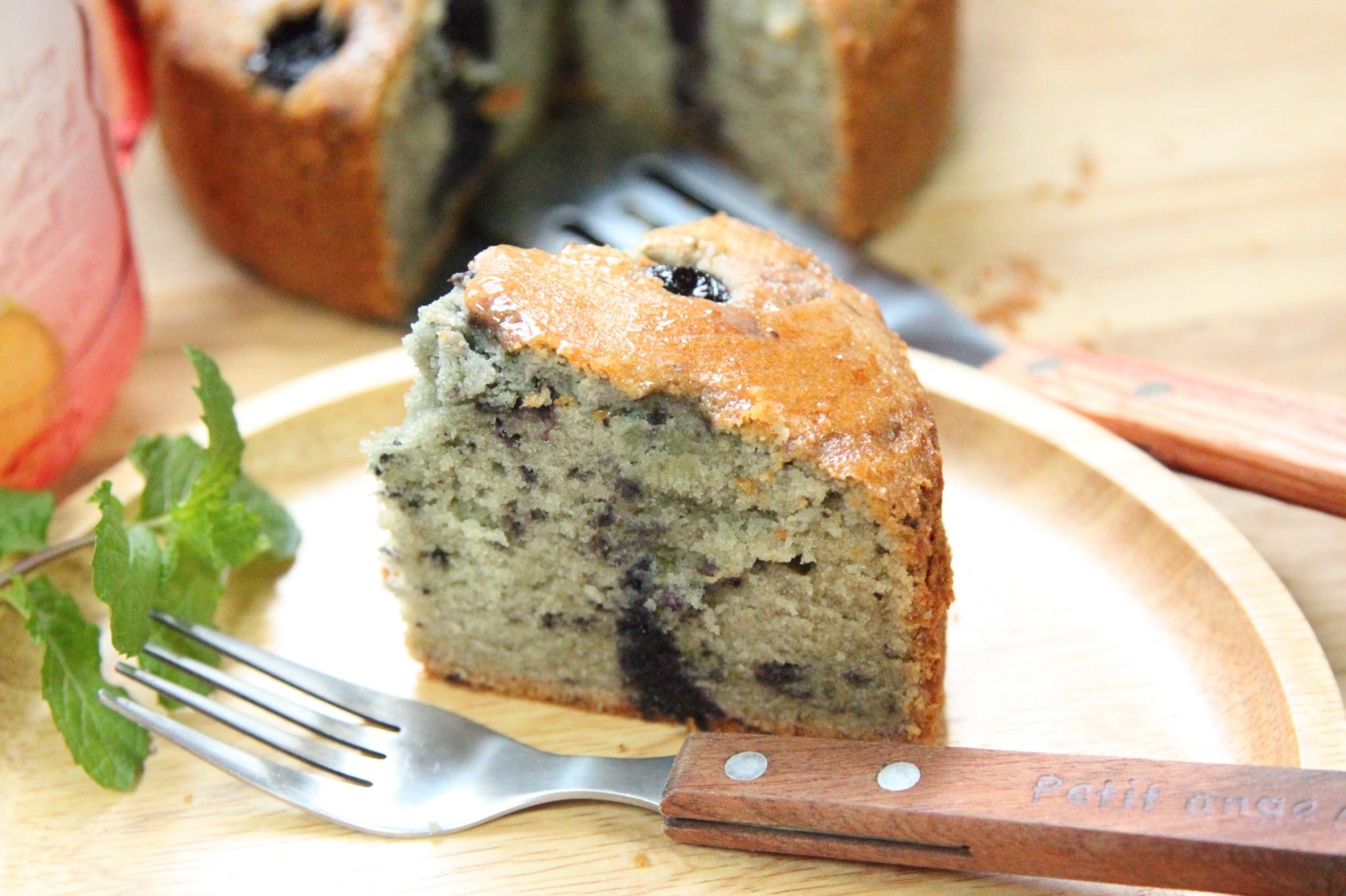 藍莓磅蛋糕