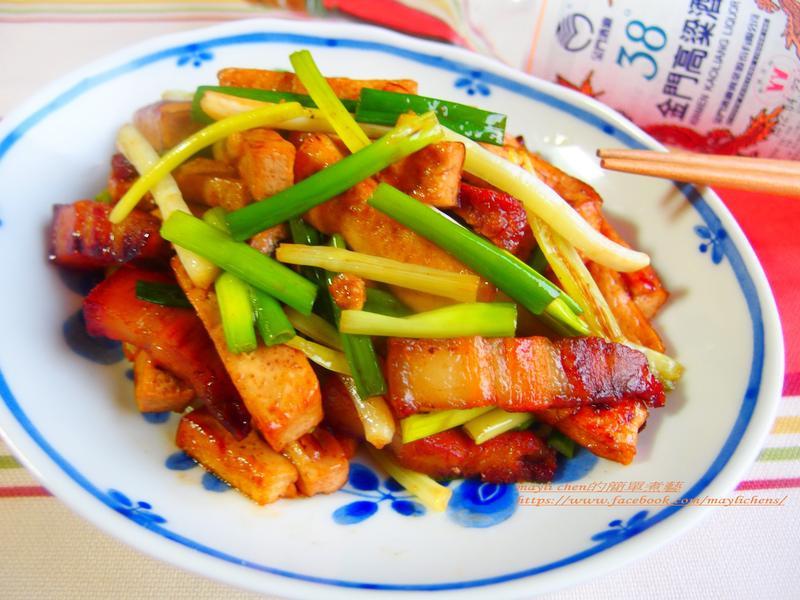 蔥爆豆干-38度金門高粱酒