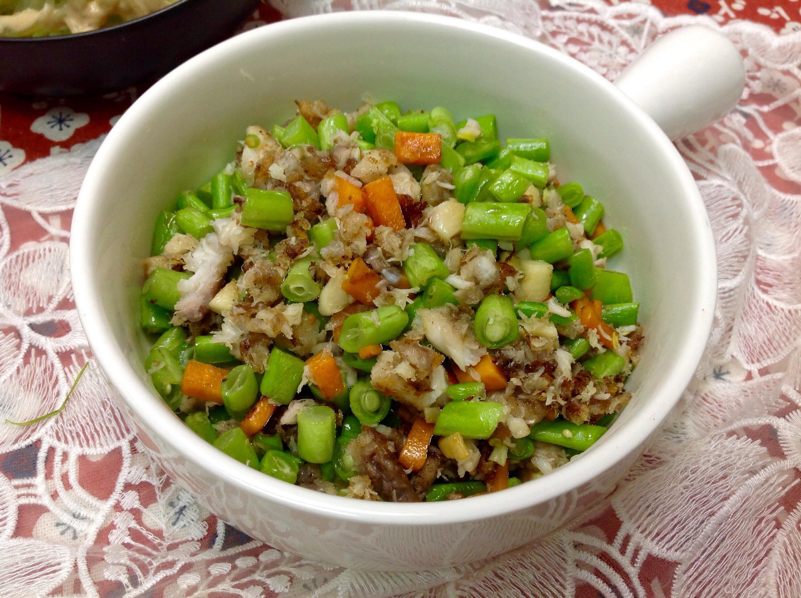 四季豆鯛魚鬆