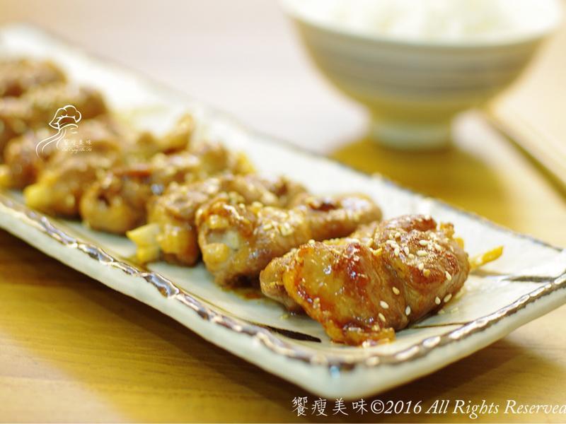 饗瘦美味-照燒杏鮑菇卷