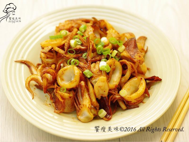 饗瘦美味-醬燒小卷