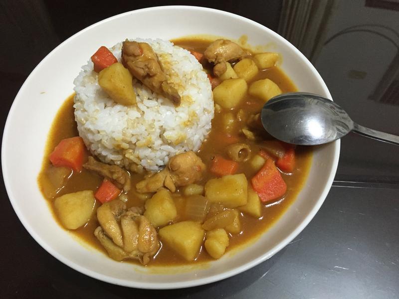 濃郁日式雞肉咖哩