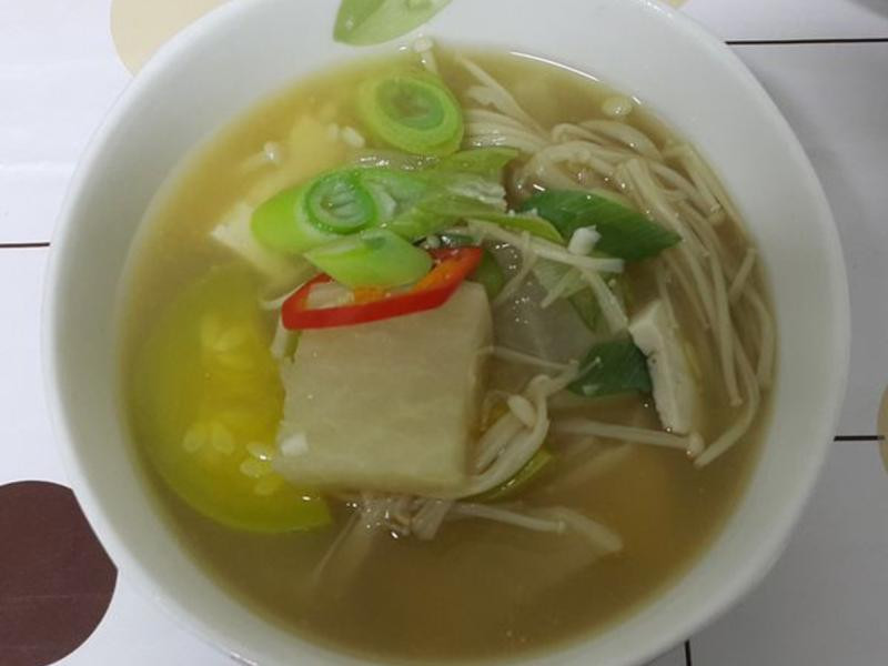 (韓式)味噌豆腐鍋