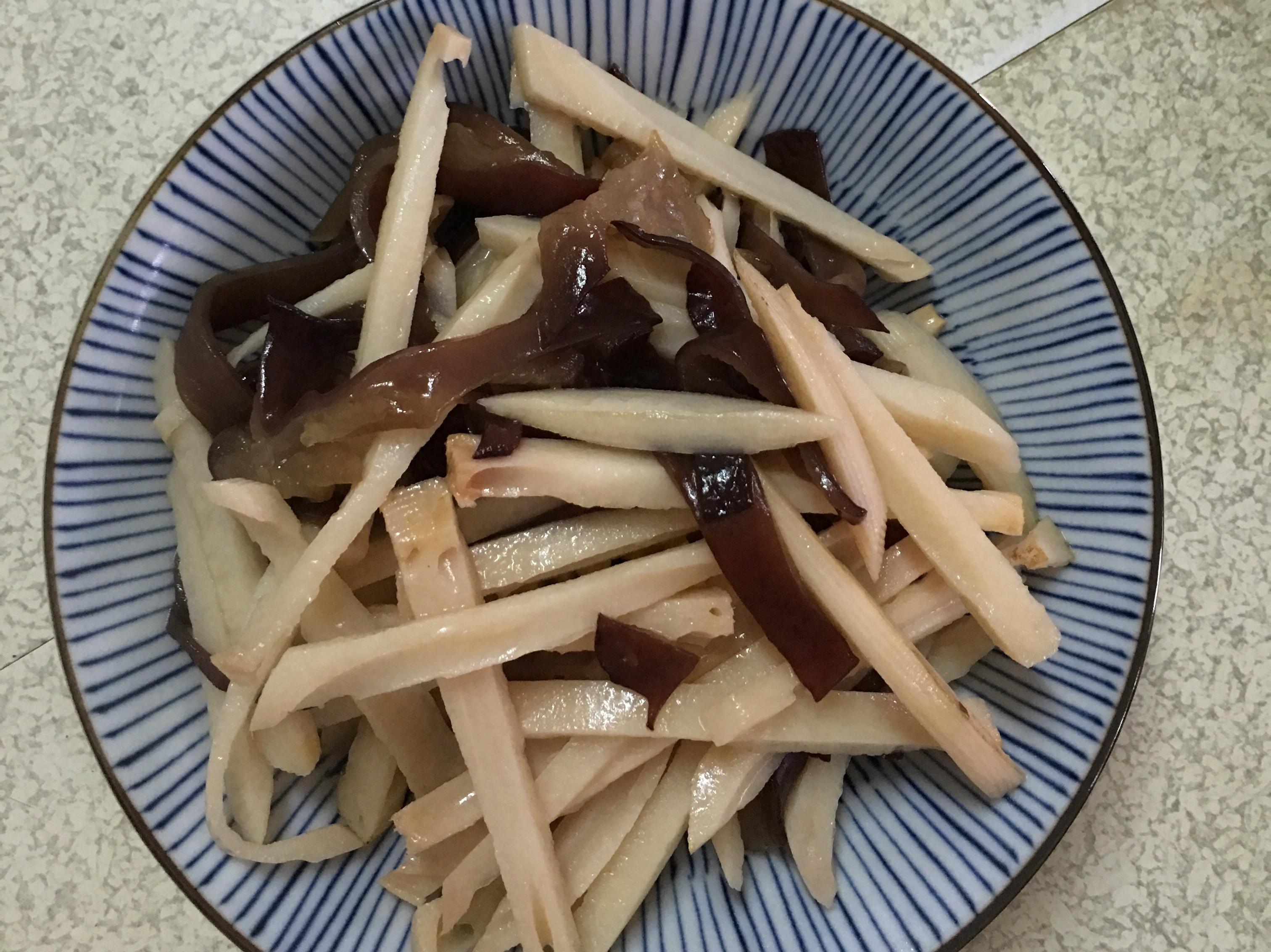 (脆)炒蓮藕~素食