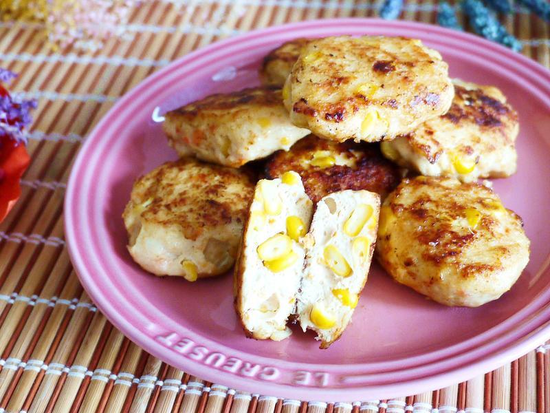 自製玉米雞塊