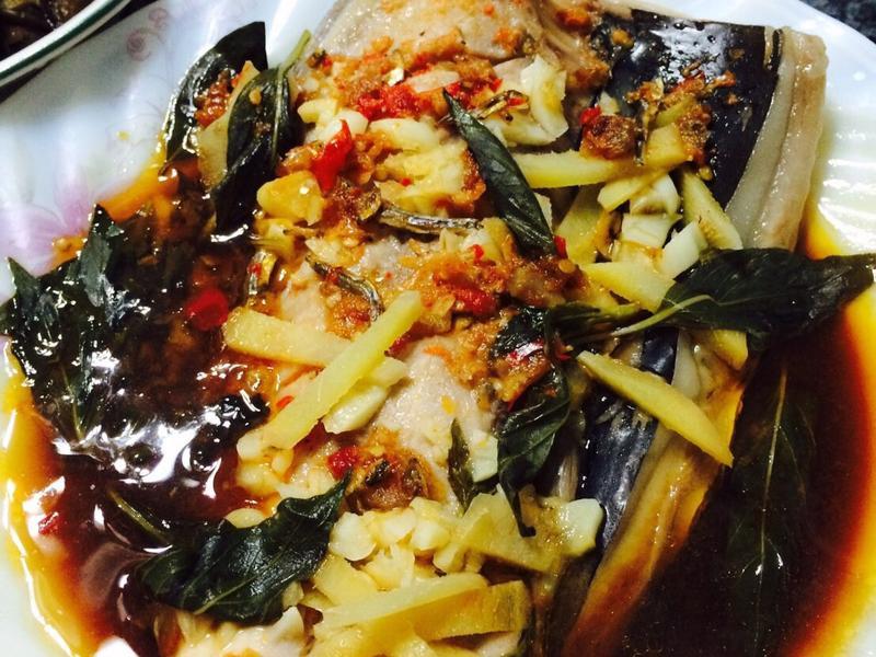 簡單好吃干貝醬蒸虱目魚