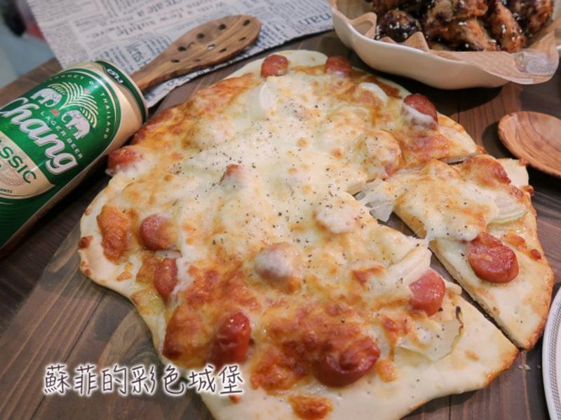親子動手做披薩