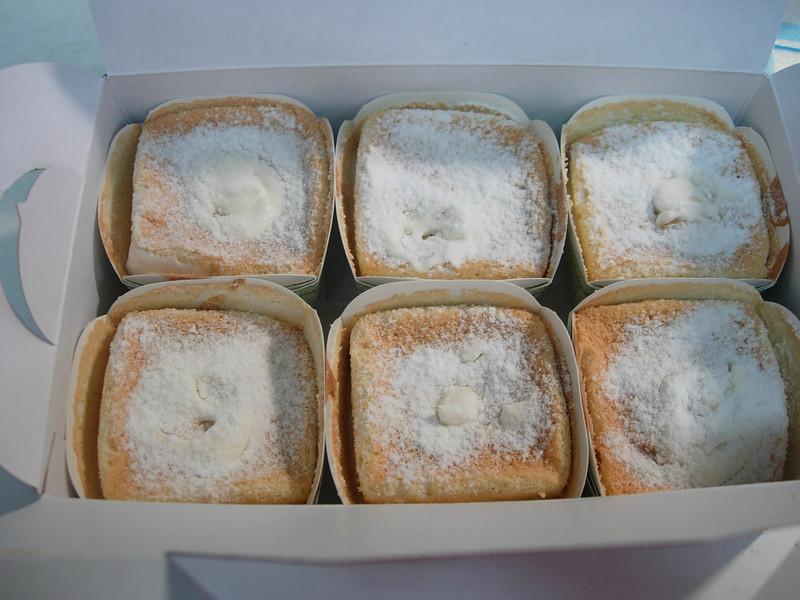 杯子戚風蛋糕(鮮奶油餡)