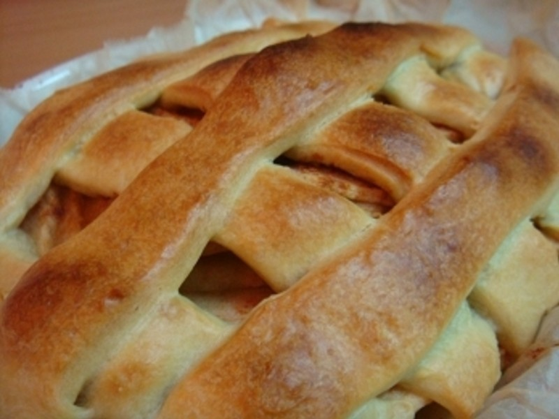格紋肉桂蘋果派