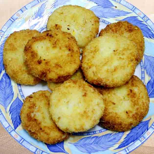 【厚生廚房】玉米奶香可樂餅