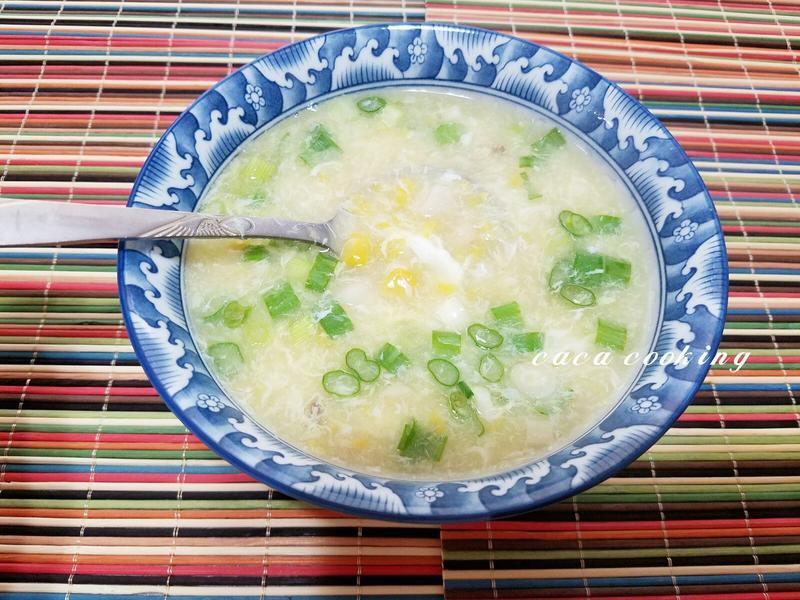 干貝杏鮑菇玉米濃湯