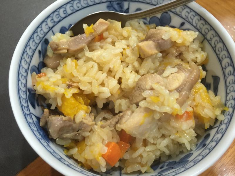 【動手做料理】南瓜雞燉飯