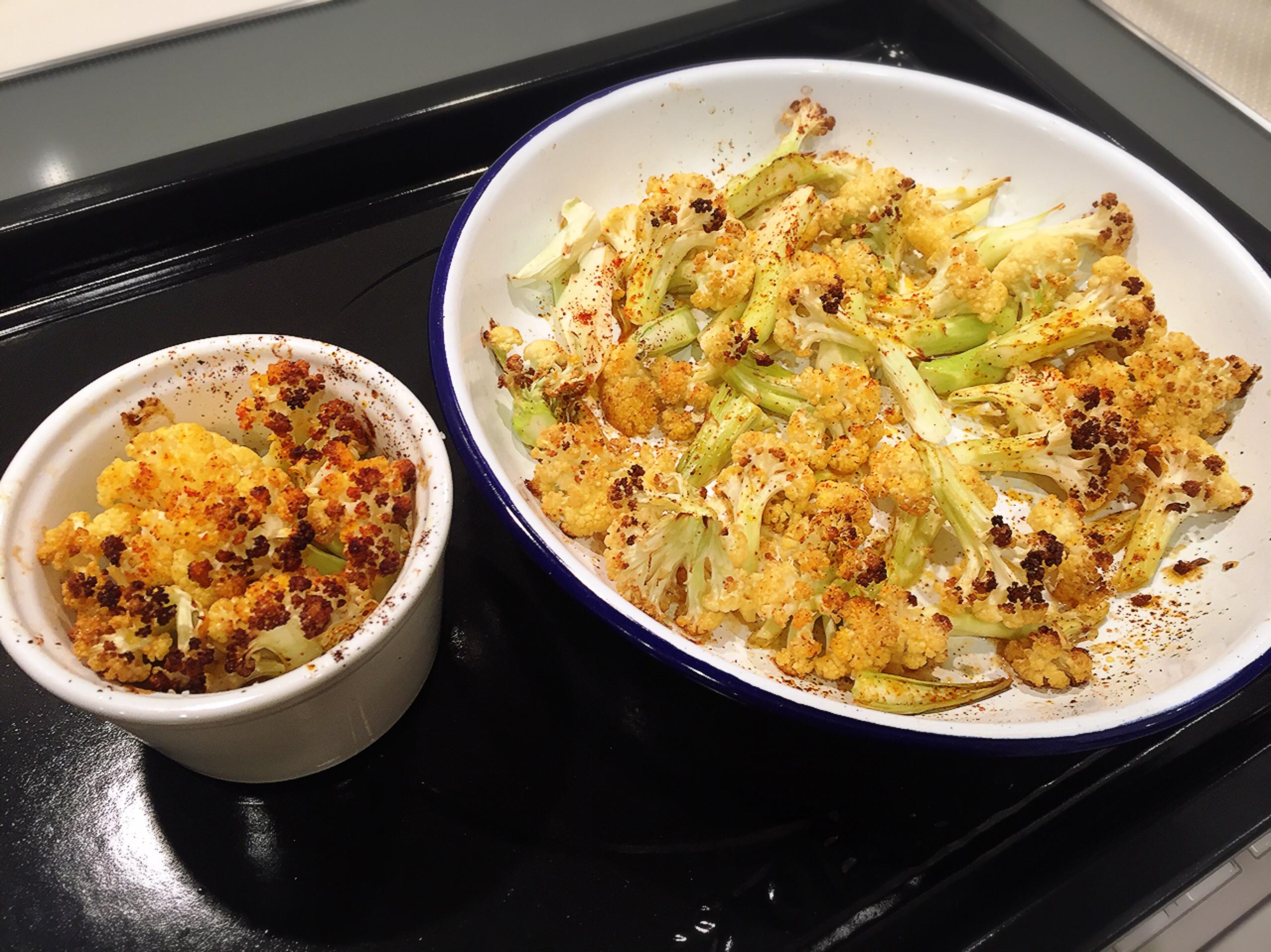 烤花椰菜(懶人料理)