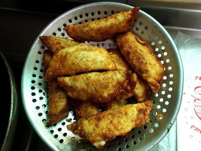 豬肉蝦仁起司餡餅