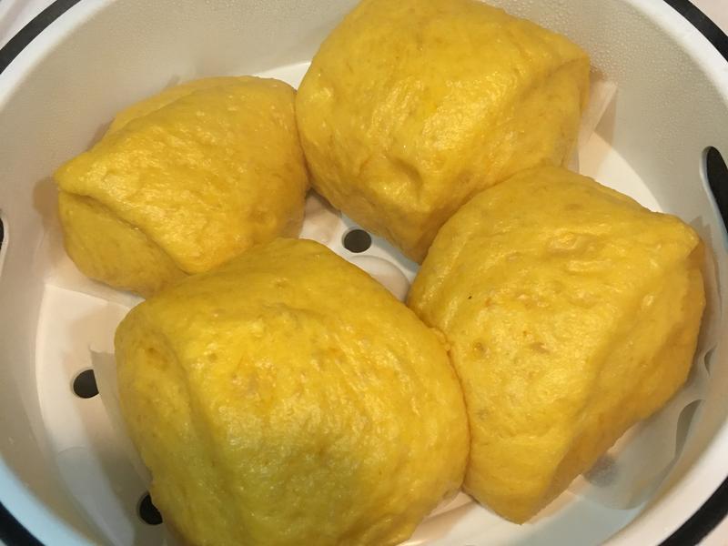 南瓜鮮奶饅頭
