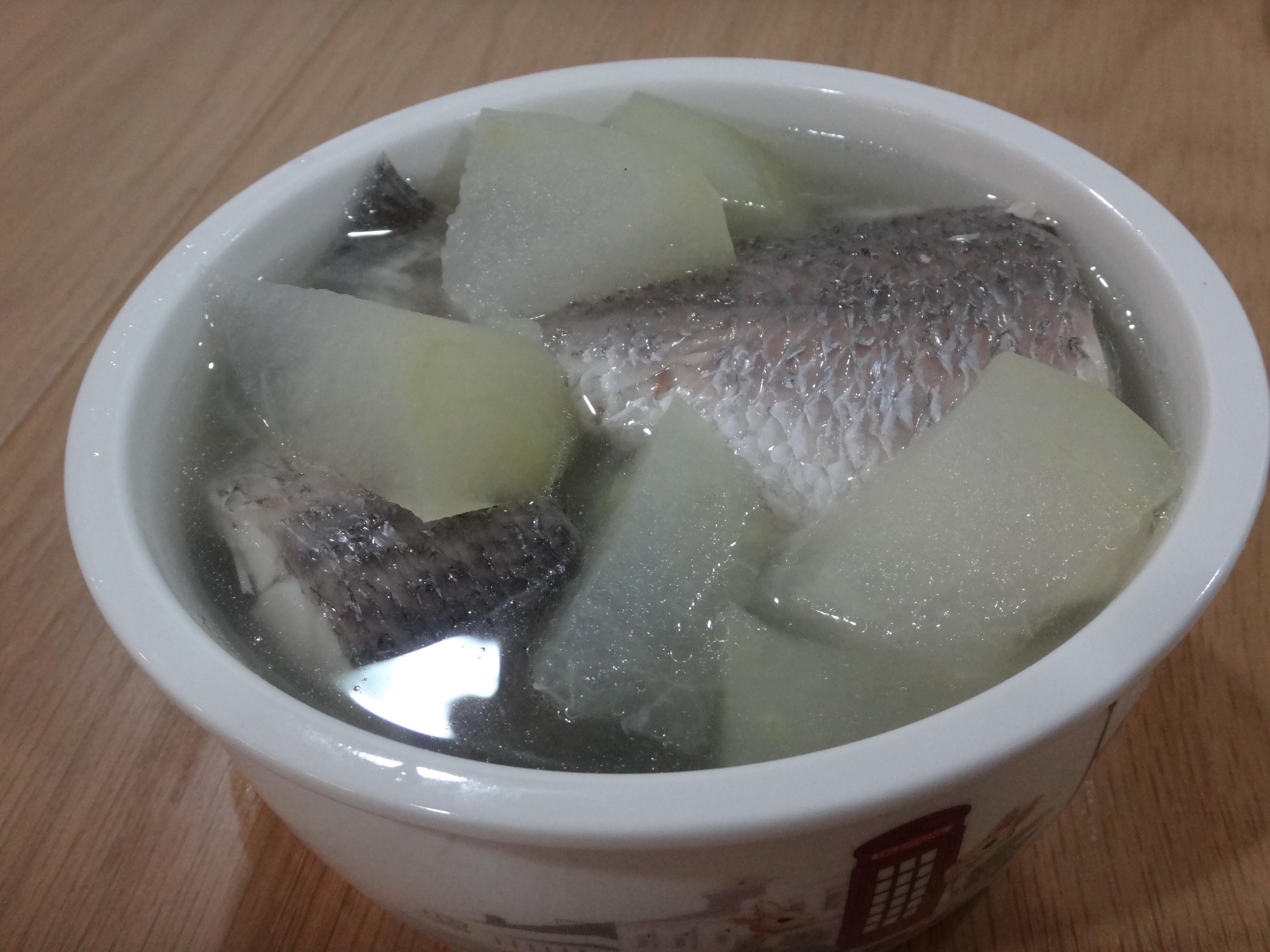 冬瓜鱸魚湯