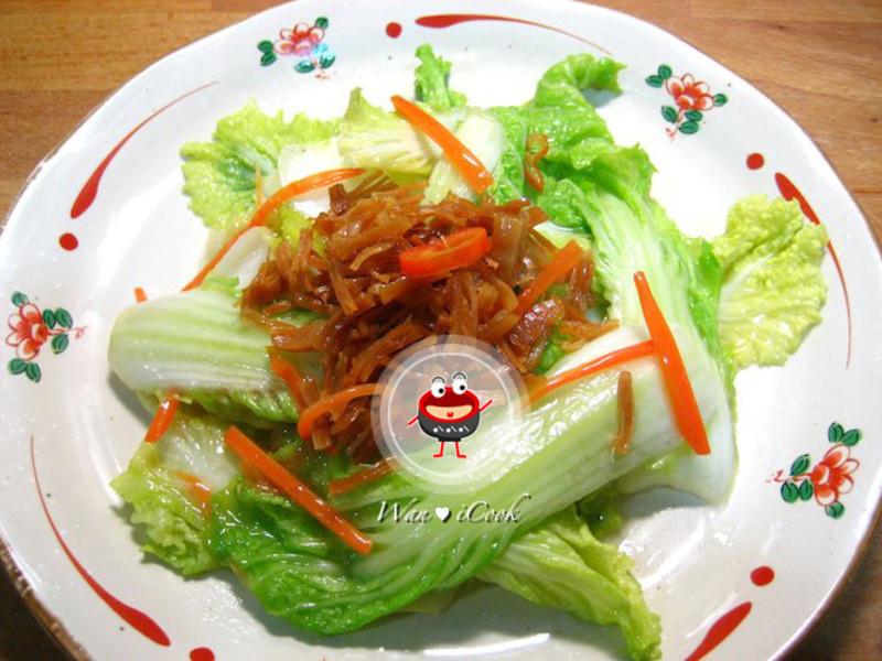 """♡宛の美好""""食""""光 ✿ 干貝酥娃娃菜"""
