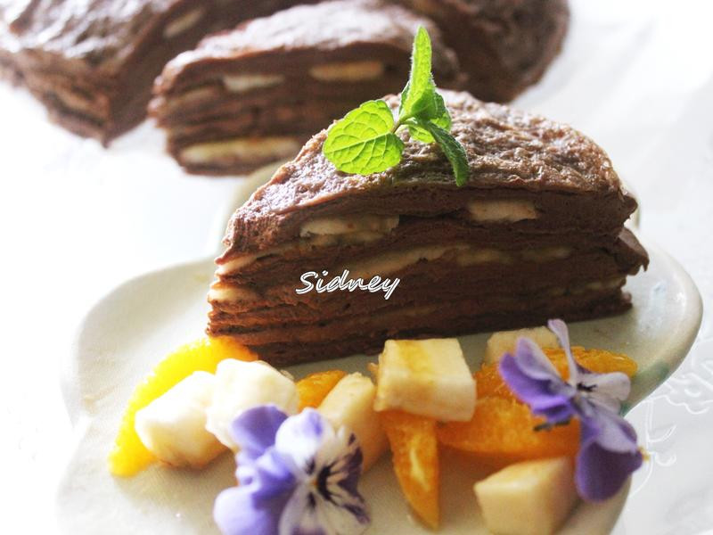 巧克力法式薄餅 Crêpes