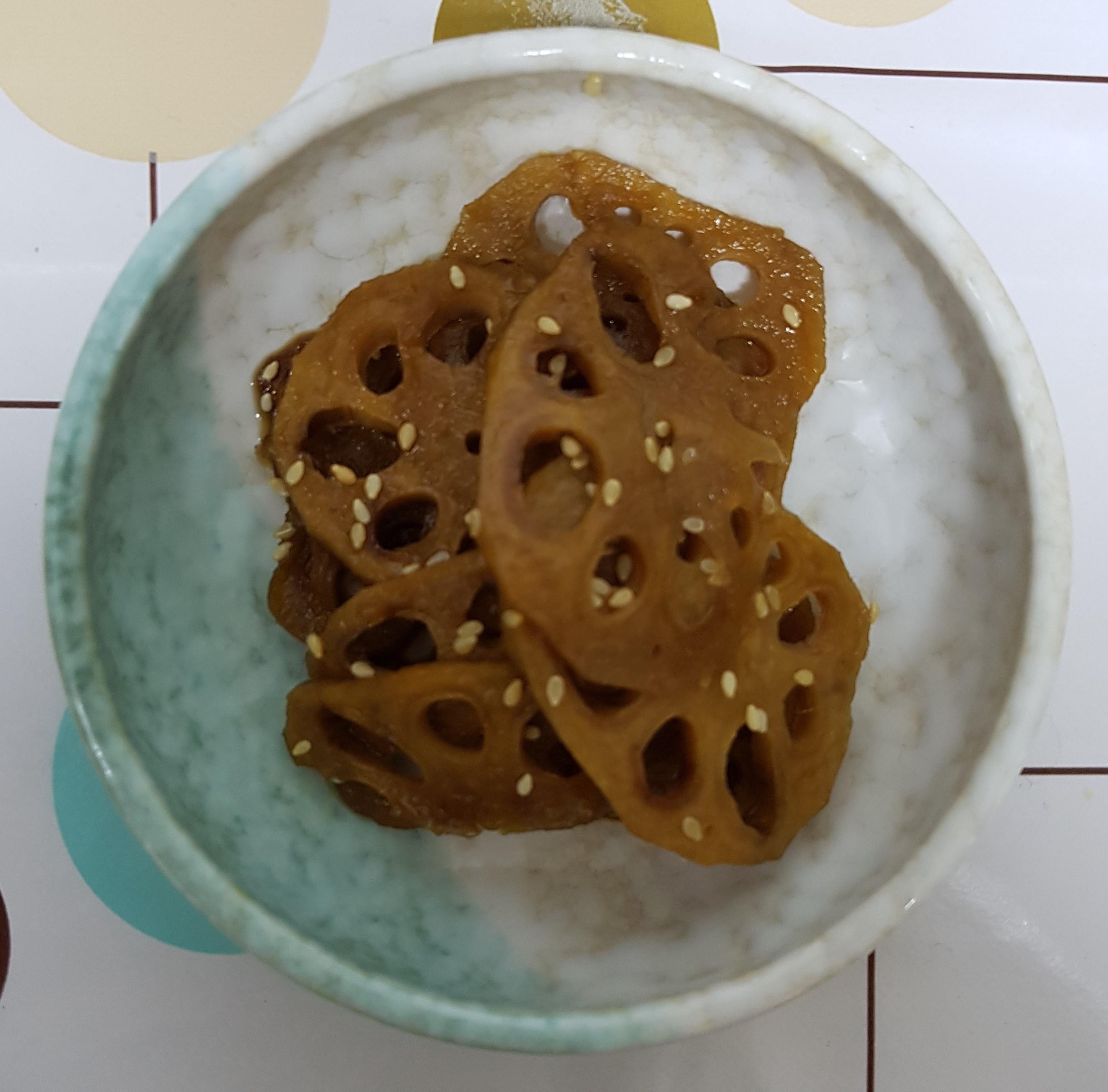 (韓式)醬煮蓮藕 연근조림