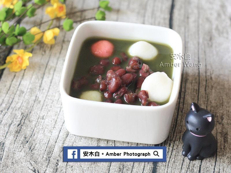 白玉紅豆抹茶湯