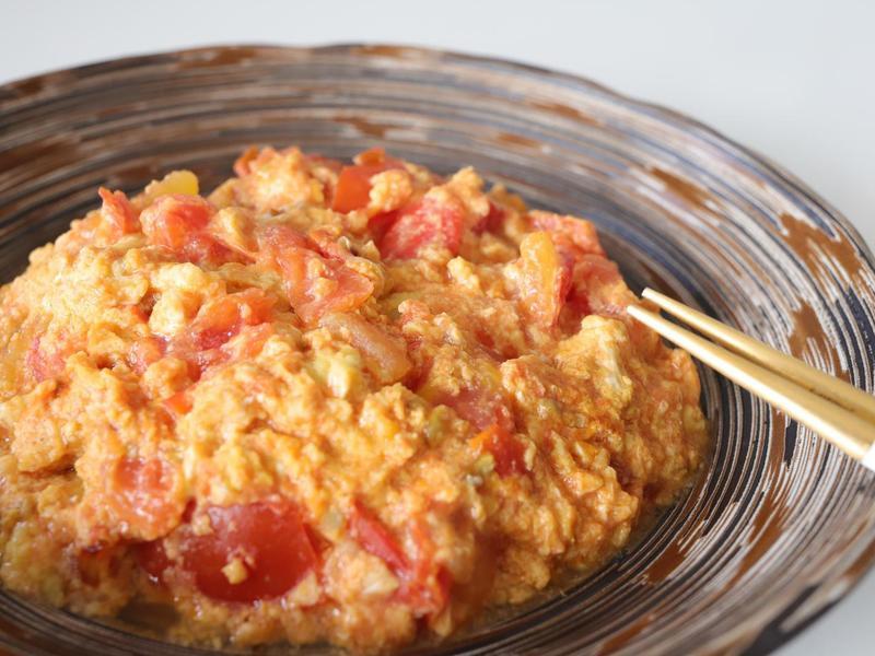 有靈魂的番茄炒蛋(10分鐘上菜)