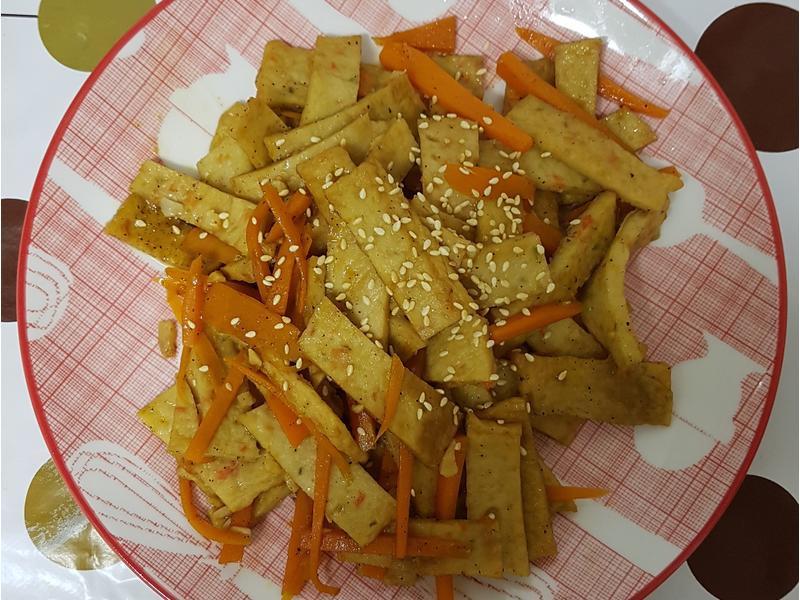 (韓式)炒魚板 어묵볶음