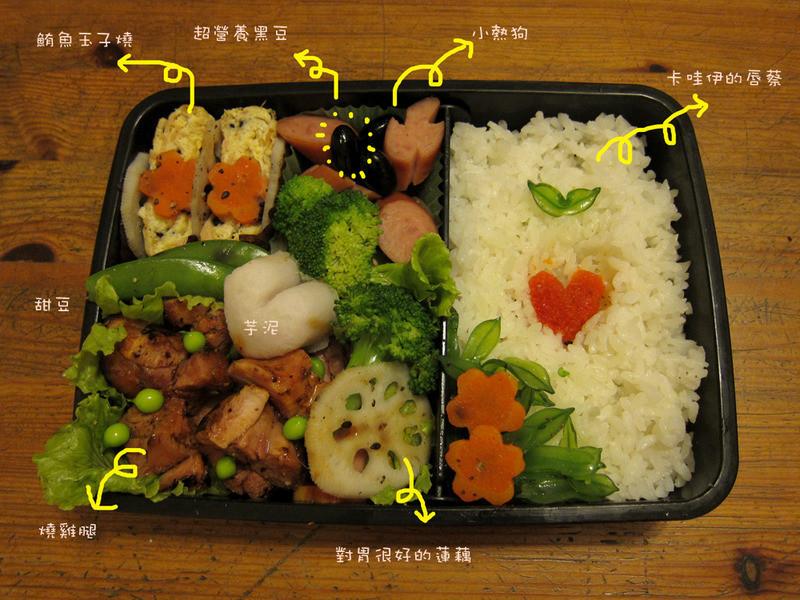 【吳双の愛妻便當】和寶寶一起吃吧^^