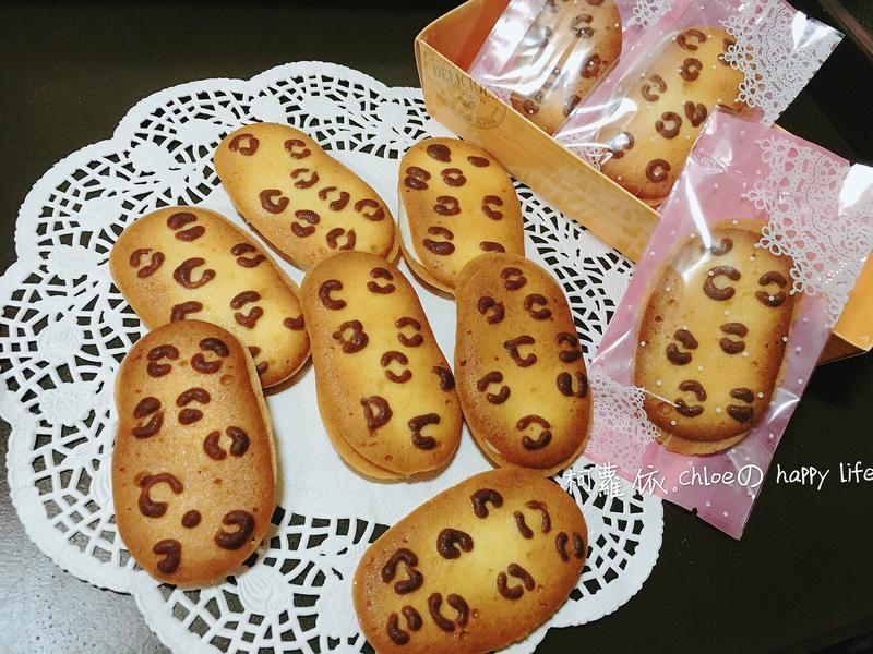 巧克力夾心豹紋餅乾