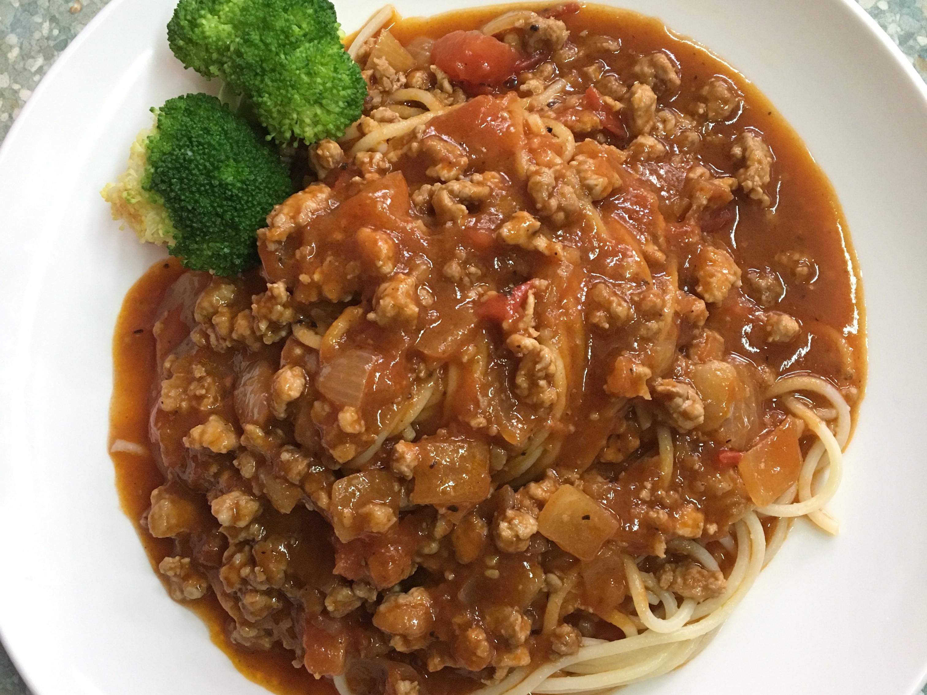 懷舊風義大利肉醬麵(小歇版)