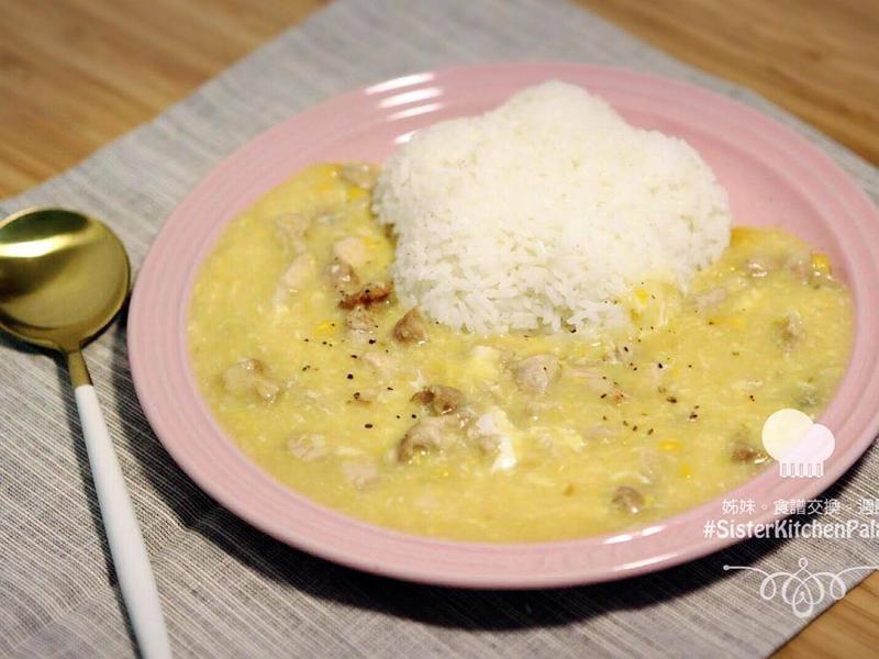 [10分鐘輕鬆上菜]玉米豬肉伴飯